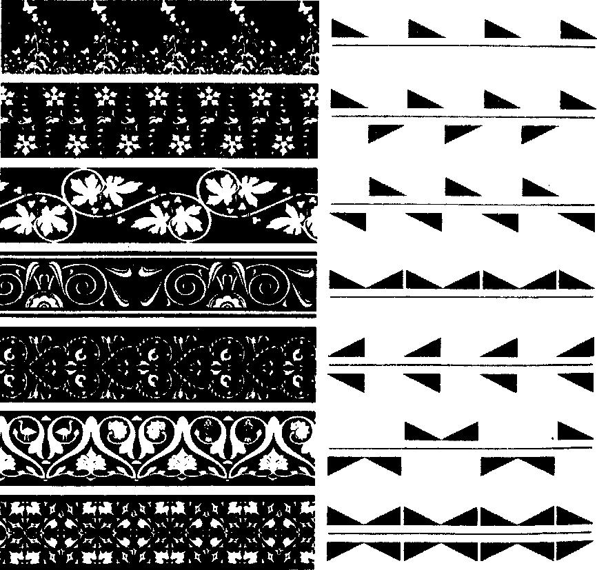 Схемы построения ленточных