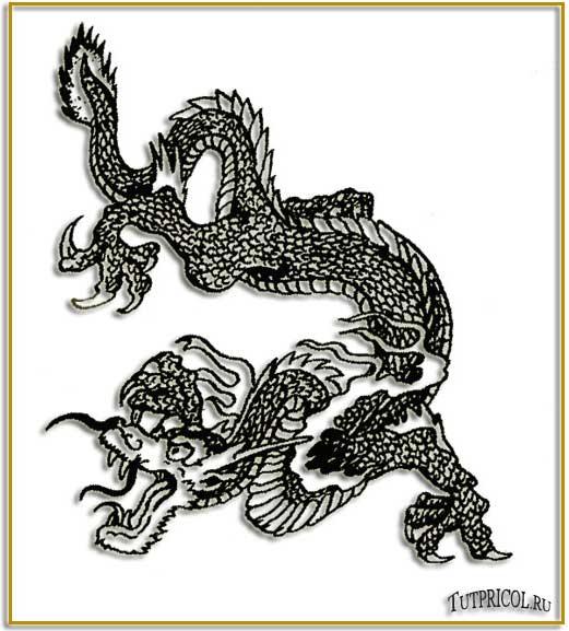 Чёрно белые эскизы татуировок