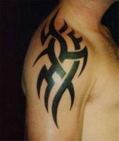 Значение татуировок: холодное и огнестрельное оружие