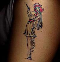 Нашей долгое стране время татуировки