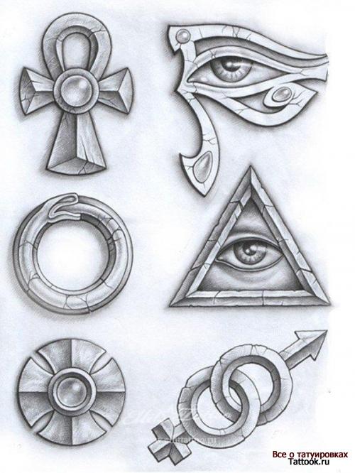 тату символы