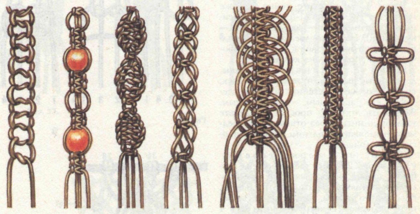 Плетения в стиле шамбалы