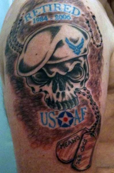 Процесс татуировки