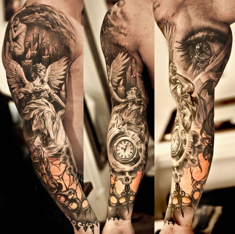 Порнуха с татуировками самые красивые 22 фотография