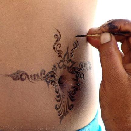 Временная татуировка сколько