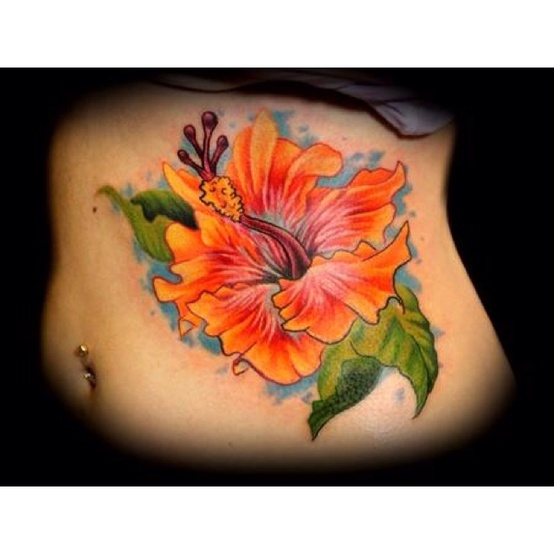 гавайский цветок,