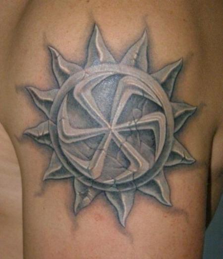 Татуировки славян