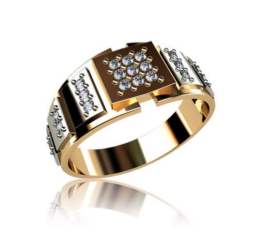 Золотые мужские кольца - Каталог украшений печатки перстни кольца мужские крупные кольца