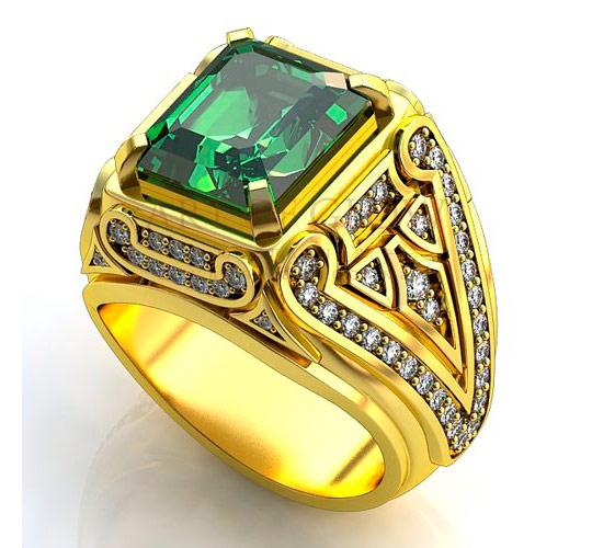 Купить золотые мужские печатки и перстни, и мужские кольца из золота с бриллиантами на заказ в интернет-магазине
