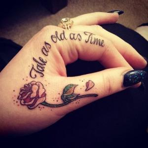 Сделать надпись татуировка
