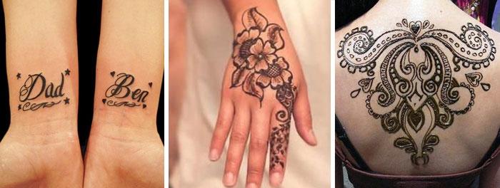 Татуировки на руку своими руками ручкой